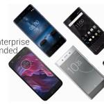 Estos son los mejores celulares Android para empresas, según Google