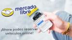 MercadoLibre ahora permite reservar autos