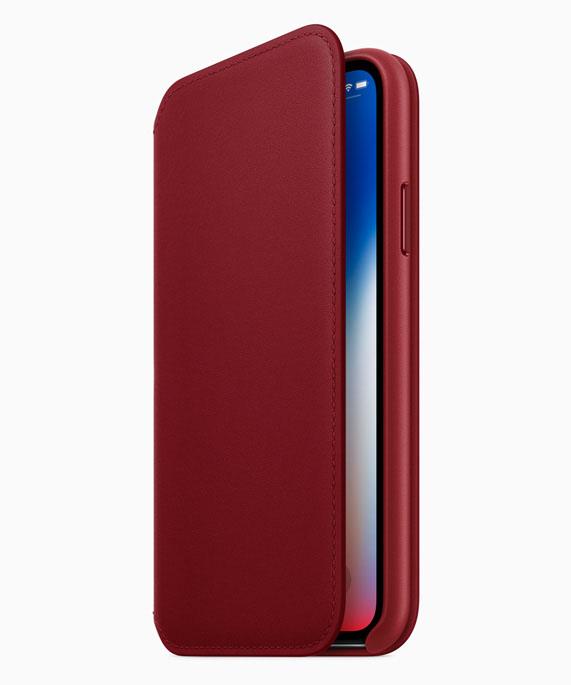 Funda roja iPhone X