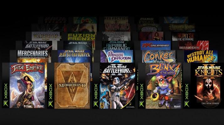 Xbox juegos retrocompatibles
