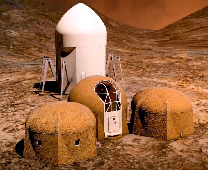 Casas Marte NASA