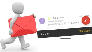 Deshacer envio Gmail