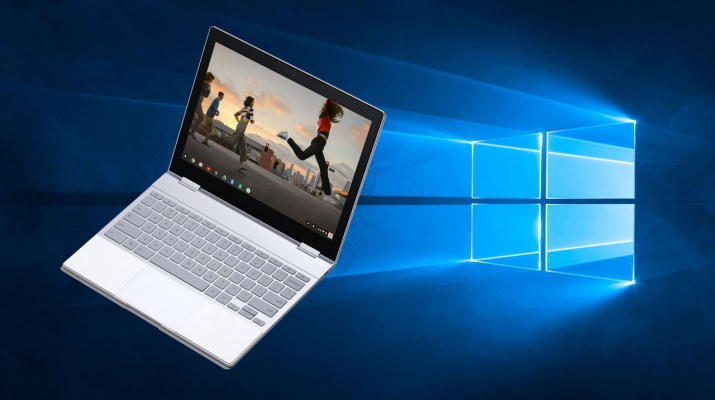 Pixelbook Windows 10
