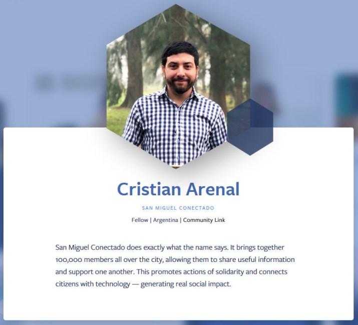 Cristian Arenal San Miguel Conectado