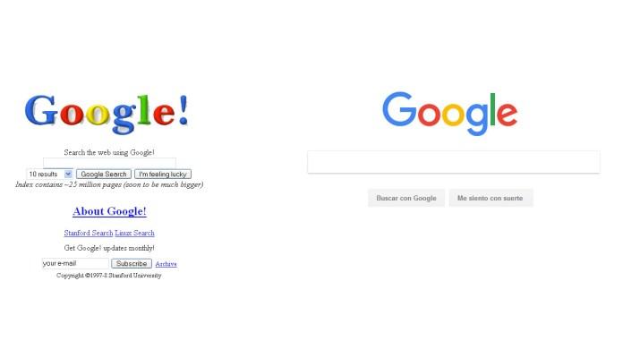 Google 20 anos