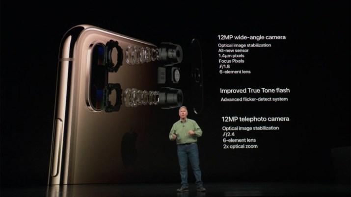 iPhone XS Camara
