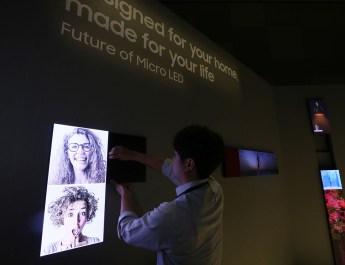 TV modular Samsung
