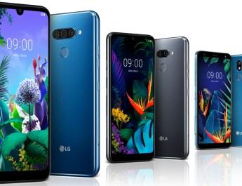 LG Q60 LG K50 LG K40