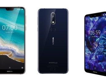 Nokia 7.1 Nokia 5.1 Plus