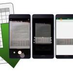 Adiós al copiar y escribir: Excel permite sacar una foto de una tabla impresa e importarla al celular para editarla