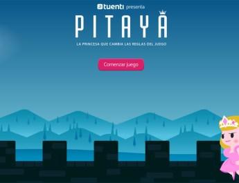 Tuenti presentó Pitaya, un videojuego online sobre una princesa empoderada