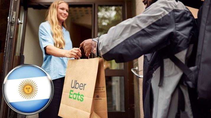 Uber Eats zona norte