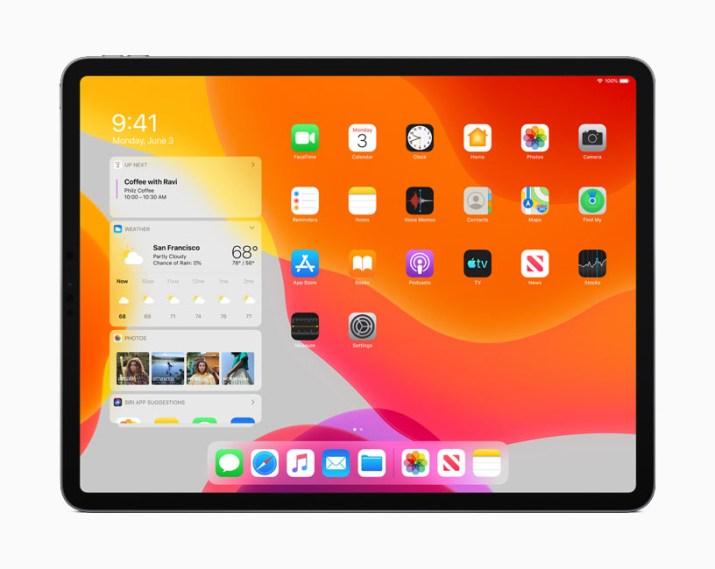 iPadOS inicio