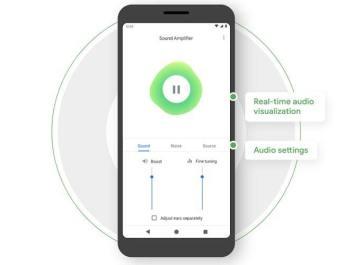 Amplificador de sonido Google