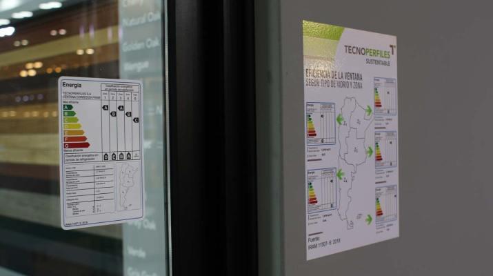 Etiqueta Eficiencia Energetica ventana