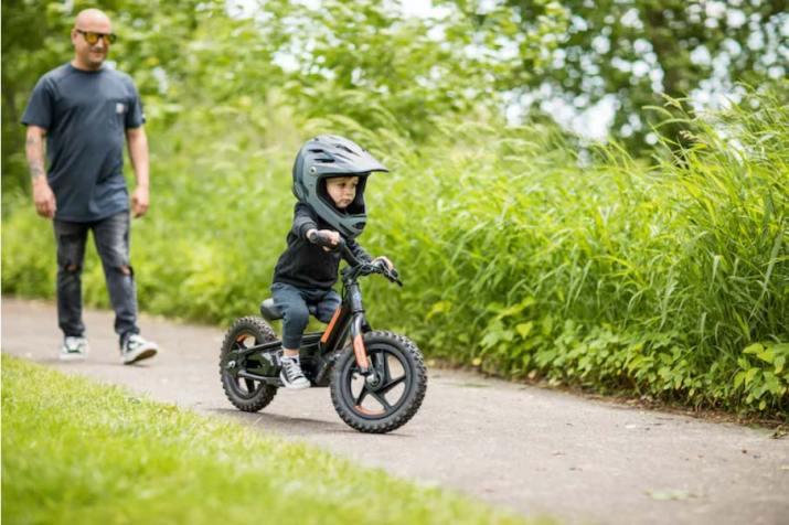 Bicicleta eléctrica Harley para niños