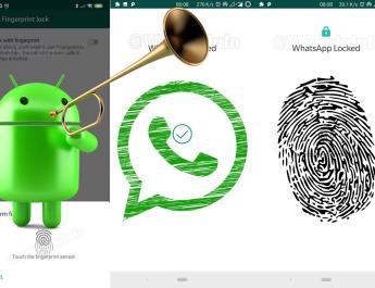 WhatsApp, a un paso de habilitar el bloqueo mediante huellas para los usuarios de Android