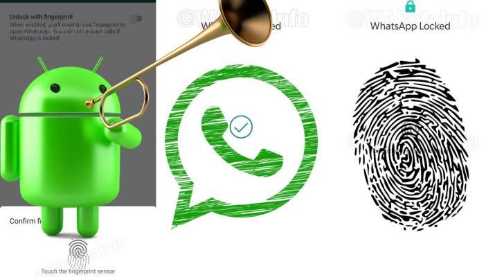 Bloqueo huella WhatsApp Android
