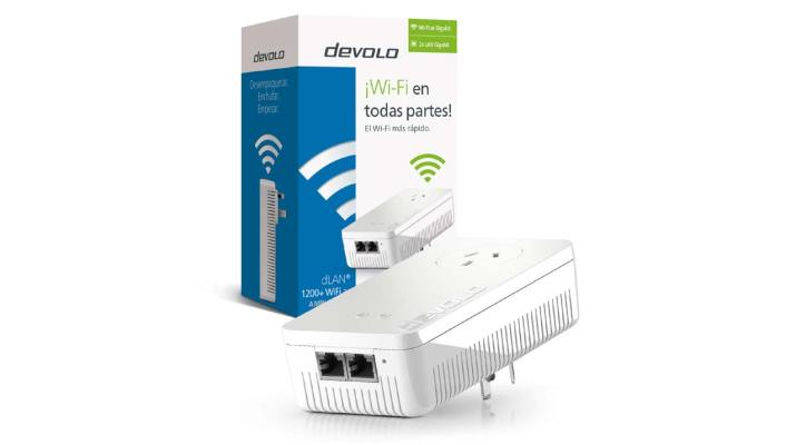 Adaptador Devolo dLAN 1200+ WiFi ac