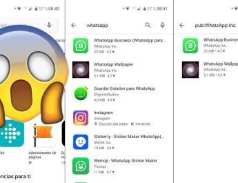 WhatsApp desapareció de las búsquedas en Google Play y nadie sabe porqué, pero todo apunta a un fallo de seguridad