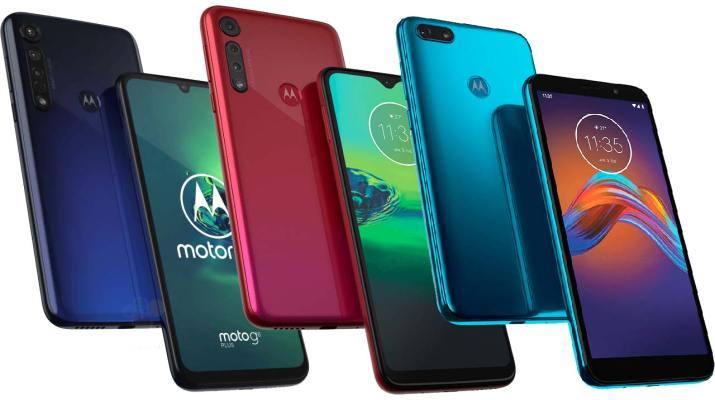 Moto G8 Moto G8 Plus Moto E6 Play