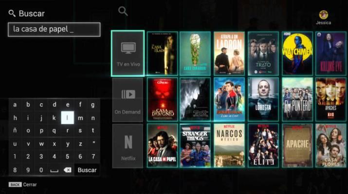 Netflix en Flow