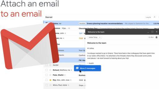 Adjuntar mail Gmail