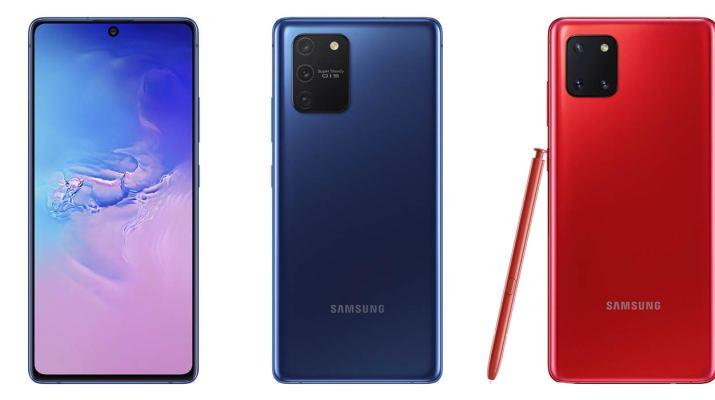 Galaxy S10 Note 10 Lite