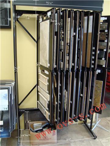sample boards display racks tile displays