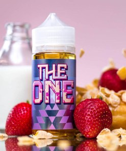 The One Strawberry eLiquid 100ml