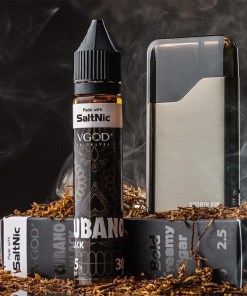 VGOD SaltNic Cubano Black eLiquid 30ml