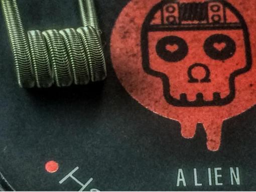 Alien   Prebuilt Coils   OHM Vapes   Hand Crafted Coils