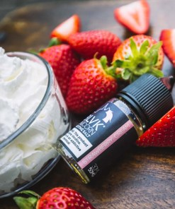 BLVK Unicorn Nicotine Salt Strawberry Cream 30ml