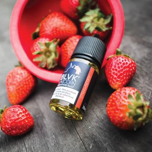 BLVK Unicorn Nicotine Salt Strawberry eLiquid 30ml