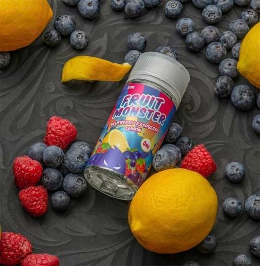 Blueberry Raspberry Lemon-Jam Monster-100ml