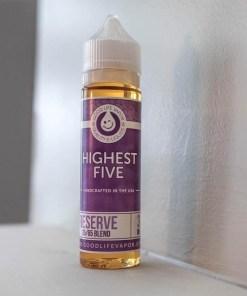 Highest Five-Good Life Vapor-60ml