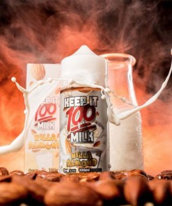 Nilla Almond Milk- Keep It 100-100ml