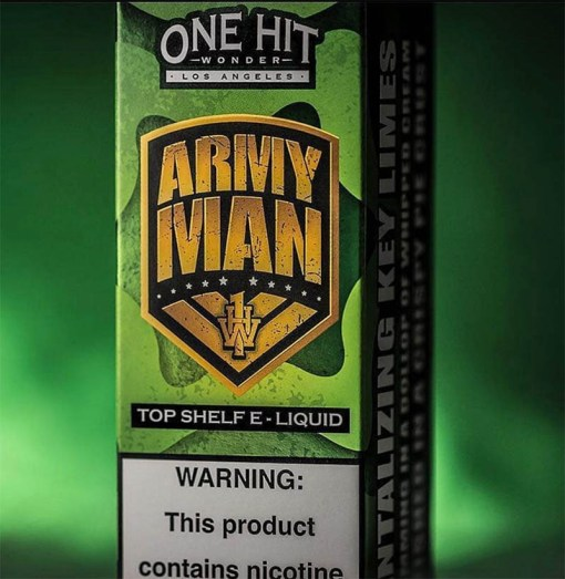 One Hit Wonder Army Man eLiquid 100ml