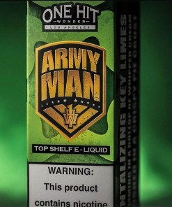 One Hit Wonder Army Man eLiquid 100ml