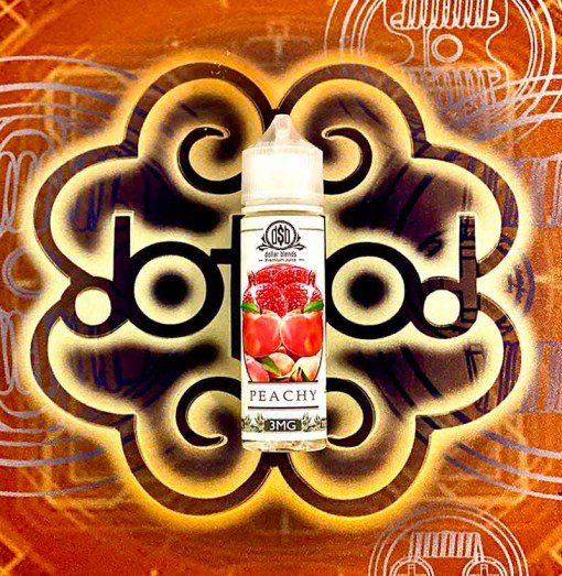 Peachy By Dollar Blends E Liquid 60ml
