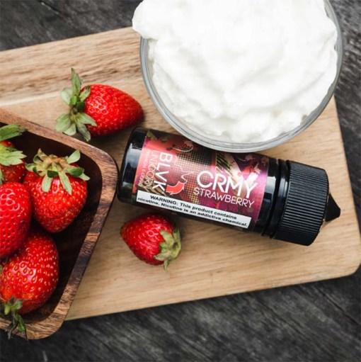 BLVK Unicorn CRMY Strawberry Ejuice 100ml