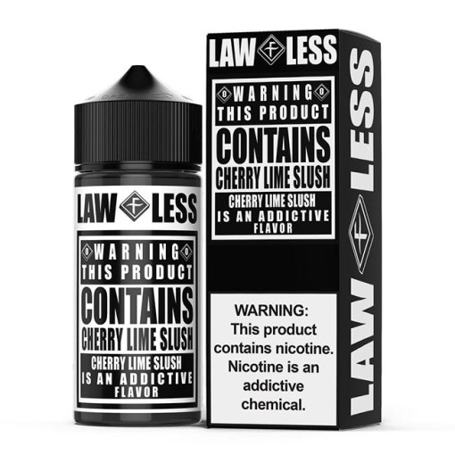 Cherry Lime Slush by Flawless Warning E-Liquid 100ml