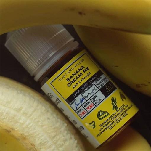 Banana Cream Pie -Glas Basix Salts-30ml