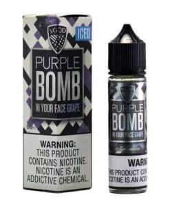 VGOD Purple Bomb Iced MTL eLiquid 60ml