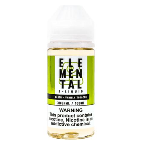 Elemental Earth (Vanilla Tobacco) E-LIQUID