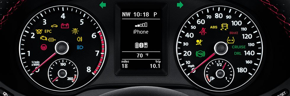 Dashboard Indicator Lights
