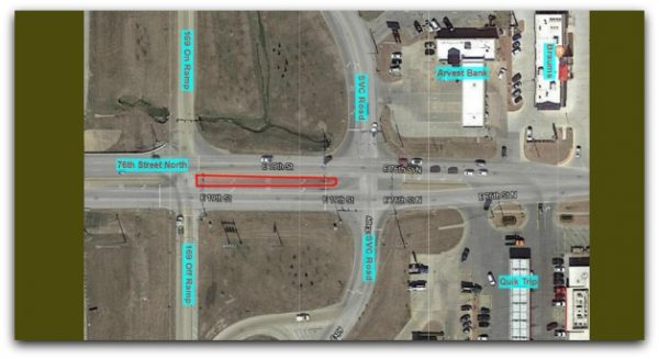 76th Street Roadwork Near Highway 169 Begins Monday