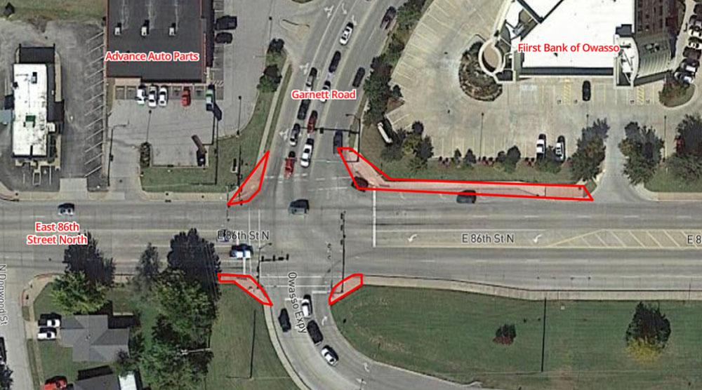 Sidewalk Repair at 86th and Garnett to Begin December 21st