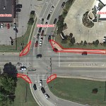 Sidewalk Repair at 86th and Garnett to Begin December 21st