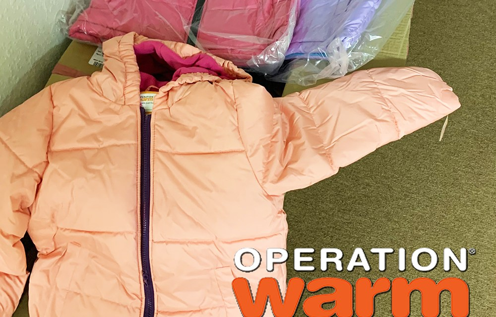 Shake Milton Helps Provide New Coats to Owasso Area Children